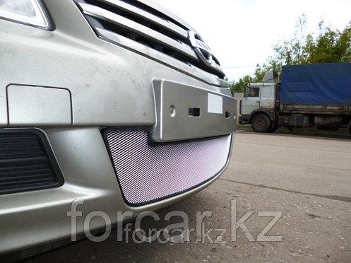 Защита радиатора Nissan Almera 2013 -  chrome, фото 2
