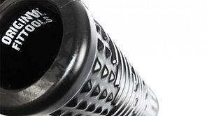 Цилиндр массажный 45х12,7 см черный FT-PU-18