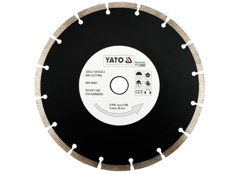 Отрезной алмазный диск по бетону