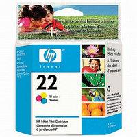 Картридж HP Europe/C9352AE/Чернил/№22/трехцветный/5 мл