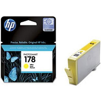 Картридж HP Europe/CB320HE/Чернильный/№178/желтый/4 мл