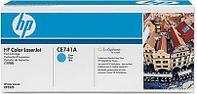 Картридж HP Europe/CE741A/Лазерный/голубой