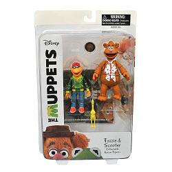 Diamond Select The Muppets: Fozzie & Scooter, Маппет Шоу: Скутер и Медведь Фоззи