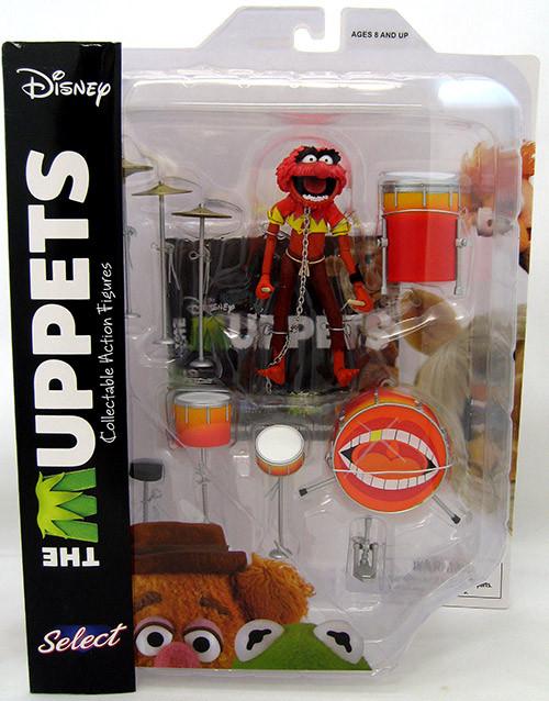 Diamond Select The Muppets: Animal & Drum, Маппет Шоу: Животное и барабан