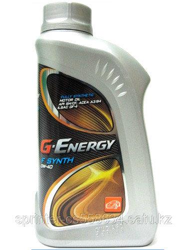 Моторное масло G-Energy F 5w40 1 литр