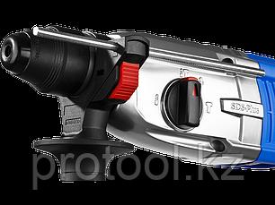 Перфоратор SDS-plus, ЗУБР Профи, реверс, металл редуктор, 3.2Дж, 0-1200 об/мин, 0-4800уд/мин, 800 Вт, кейс, фото 2