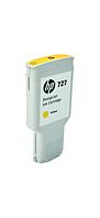 Картридж HP Europe/F9J78A/Чернильный/желтый/№727/300 мл