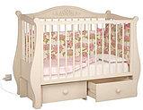 """Кровать детская """"Джулия"""" Можгинский лесокомбинат(белая,слон.кость,шоколад), фото 5"""