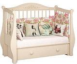 """Кровать детская """"Джулия"""" Можгинский лесокомбинат(белая,слон.кость,шоколад), фото 6"""