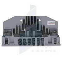 Набор зажимных приспособлений Optimum  SPW 16 под пазы 18 мм
