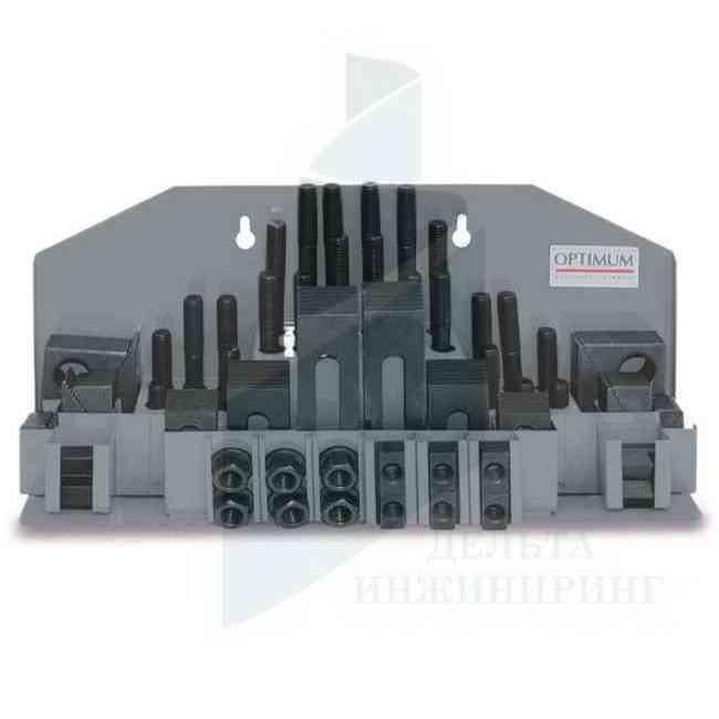 Набор зажимных приспособлений Optimum SPW 14 под пазы 16 мм