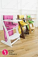 Мягкое основание розовое для растущего стула Усура, фото 5