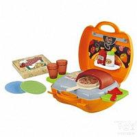 """Игровой набор""""Пиццерия в моем чемоданчике""""21 предм."""