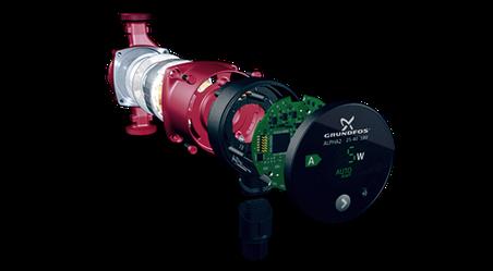 ALPHA2 Лучшее энергоэффективное решение для циркуляции системы