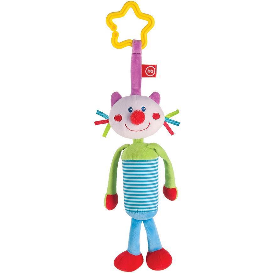 Игрушка-колокольчик Happy Baby Perky Kitty