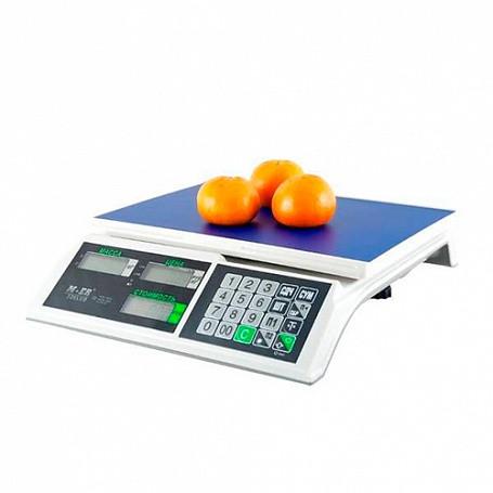 Весы электронные фасовочные настольные M-ER 326AC-15.2 (345х330х120мм, платф. 325х230мм, до 15 кг, ЖКИ)