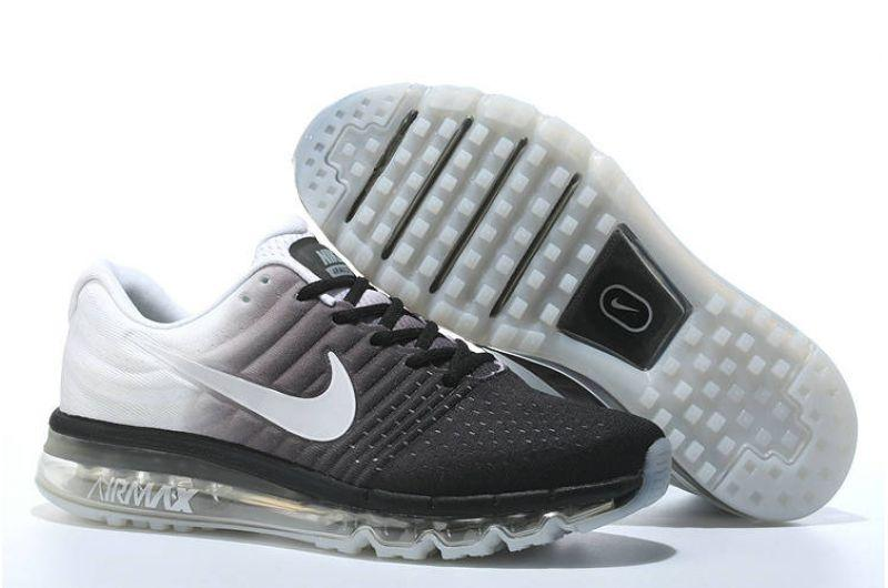 "Кроссовки Nikе Air Max 2017 ""White Black"" (40-45)"