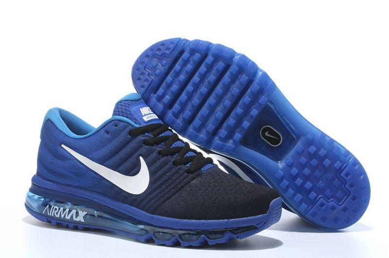 "Кроссовки Nikе Air Max 2017 ""Black Royal Blue"" (40-45)"
