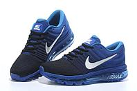 "Кроссовки Nikе Air Max 2017 ""Black Royal Blue"" (40-45), фото 4"