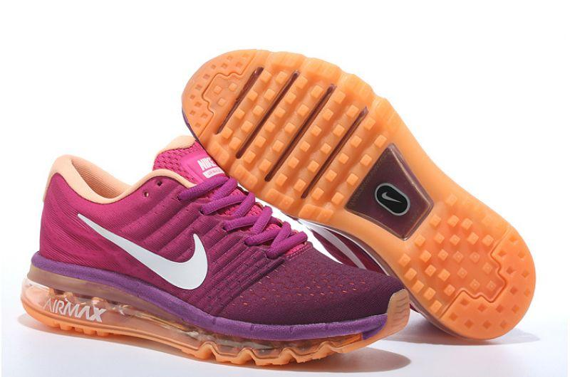 "Кроссовки Nike Air Max 2017 ""Purple Orange"" (36-40)"