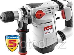 Перфоратор SDS-plus, ЗУБР ЗПВ-32-1250 ЭВК, вертикальный, 3.5 Дж, 730 об/мин, 4000 уд/мин, 1250 Вт, кейс