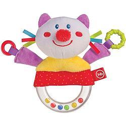 Погремушка-пищалка Happy Baby Funny Kitty