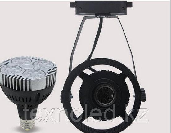 Трековый светильник светодиодный с лампой 35 ватт, фото 2
