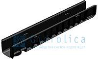 Лоток водоотводный Gidrolica Standart ЛВ-10.14,5.12 - пластиковый, фото 1