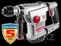 Перфоратор SDS-Max, ЗУБР Профессионал ЗПМ-40-1250 ЭВК, 250-450 об/мин, 1400-2800 уд/мин, 10 Дж, 7 кг, 1250 Вт,