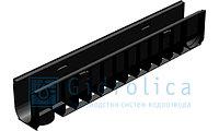 Лоток водоотводный Gidrolica Standart ЛВ-10.14,5.18,5 - пластиковый, фото 1