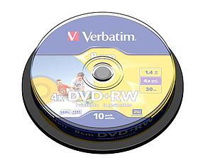 DVD+RW 1.4GB 8cm Verbatim Printable, фото 2