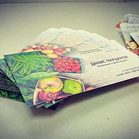 Изготовление фирменных визиток