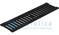 Решетка водоприемная Gidrolica Standart РВ -10.13,6.50 - щелевая чугунная ВЧ, кл. С250, фото 1