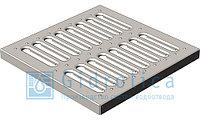 Решетка водоприемная Gidrolica Point РВ-28,5.28,5 - штампованная стальная оцинкованная, кл. А15 , фото 1