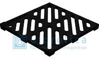 Решетка водоприемная Gidrolica Point РВ-28,5.28,5 - чугунная щелевая, кл. С250 , фото 1