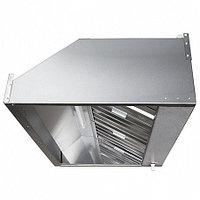Зонт вытяжной пристенный с жироулавливающим лабиринтным фильтром, электровентилятором и подсветкой ЗВэ-П09/09 , фото 1