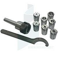 Цанговый патрон ISO 30 / M10 / ER25