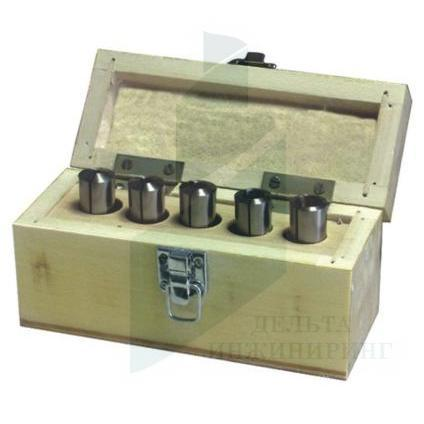 Набор цанг Optimum MK2  5 шт. 4-12 мм