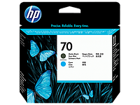 Печатающая головка HP 70 Matte Black and Cyan C9404A