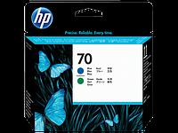 Печатающая головка HP 70 Blue and Green C9408A