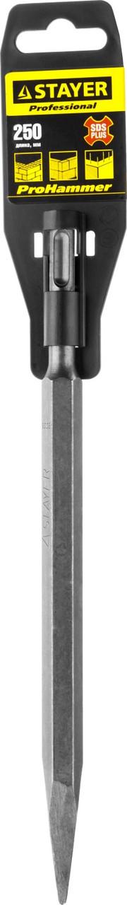 STAYER SDS-plus Зубило пикообразное 250 мм