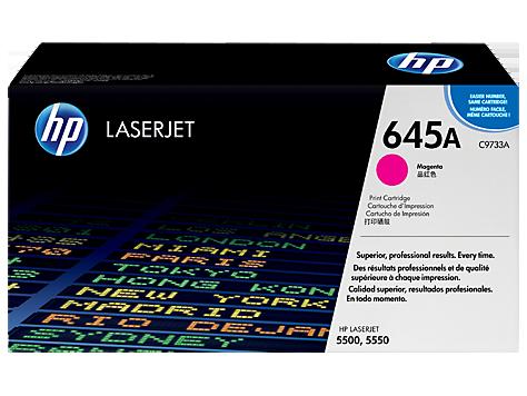 Тонер картридж HP 645A (Оригинальный, Пурпурный - Magenta) C9733A