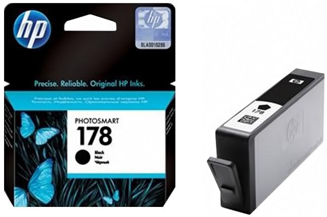 Струйный картридж HP 178 (Оригинальный, Черный - Black) CB316HE