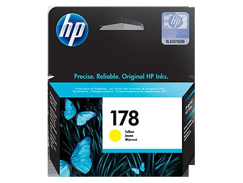 Струйный картридж HP 178 (Оригинальный, Желтый - Yellow) CB320HE