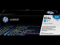Тонер картридж HP 824A (Оригинальный, Голубой - Cyan) CB381A