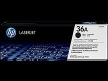 Лазерный картридж HP 36A (Оригинальный, Черный - Black) CB436A