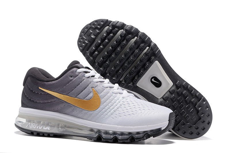 "Кроссовки Nike Air Max 2017 ""White Grey Gold"" (40-45)"