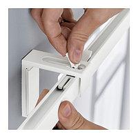 Гардинная шина ВИДГА, одинарная, белый ИКЕА IKEA