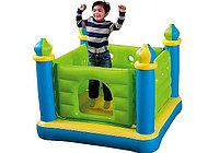 Детский надувной игровой замок-батут Intex 48257, 132х132х107 см, фото 1
