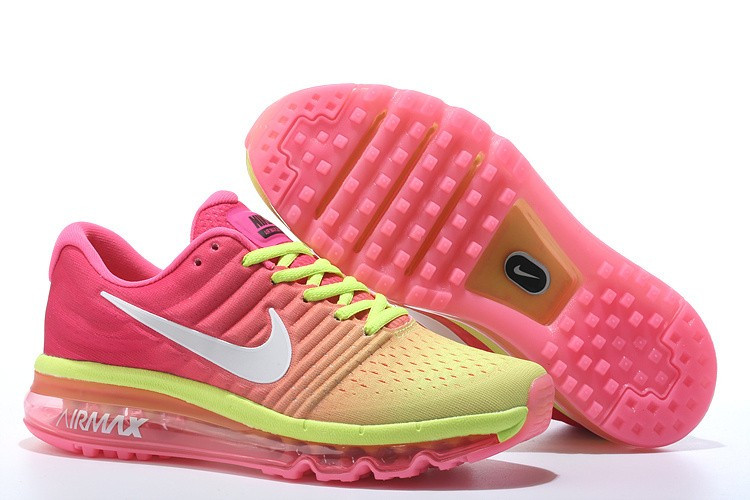 "Кроссовки Nike Air Max 2017 ""Pink Yellow White"" (36-40)"